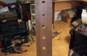 Hoe maak je een verticale wijn rack