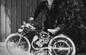 Replica Vintage motorfiets