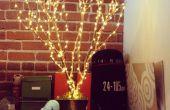 LED verlichte boom decoratie