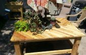 Pallet houten Patio tabel