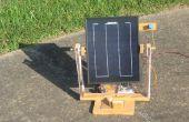 Draagbare Solar Tracker (geen microcontroller vereist!)