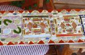 Mozaïek: glas, keramische & Gorilla lijm!