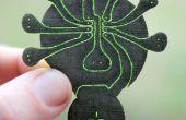 Lilypatch: Snelle Lasergesneden zachte Circuit Breakout