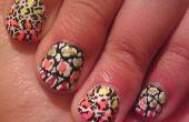 Cheetah Print Tutorial: #NailsbyMoi