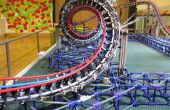 Dragon Fire - achtbaan K'nex-model