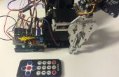 Remote controlled robotic arm