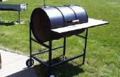 Bouw uw eigen Texas Grill (55 gallon drum barbecue)