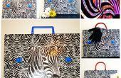 Zebra tas, map, of wat dan ook