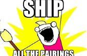 Ik het schip: een spel van romantiek en de occasionele explosie