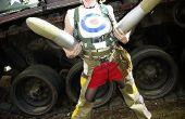 Epische Tank Girl Cosplay/fotoshoot