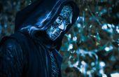 Death Eater cosplay met 3D Printed details