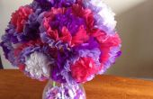 Gemakkelijk papieren zakdoekje bloemen