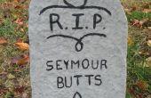 Halloween Tombstone gazon decoratie