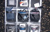 NoSew USB-elektronica organisator