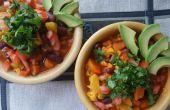 Bloemkool en Yam Chili (veganistisch)