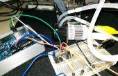 Controle peristaltische pomp met TA7291P en een Arduino