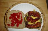 Manburger, een hamburger voor een gezonde eetlust