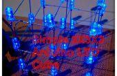 Eenvoudige 3 x 3 x 3 LED kubus met Arduino