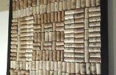 DIY Wine Cork Board: recycle en upcycle