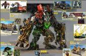 Knex Transformers Devastator deel 1.5