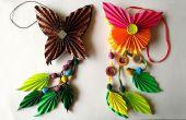 DIY: Hoe maak Origami papier vlinder Dangler | De kunst van het vouwen van papier