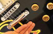 Ter vervanging van een String op een gitaar