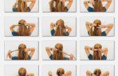 Hoe Franse vlecht uw eigen haar
