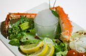 Moleculaire gastronomie - knoflook schuim