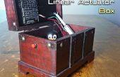 Automatisch openen / sluiten van een doos met een lineaire servomotor en Arduino