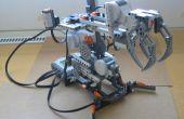Hoe te bouwen van een eenvoudige robotarm van Lego Mindstorms NXT?