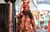 Mad Max en oorlog Boy Nux vader zoon kostuum