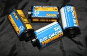 Ontwikkelen van de Film van de dia met C-41 chemicaliën AKA E-6(-)