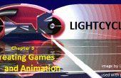 Het creëren van animatie en Games: hoofdstuk 3 Lightcycles