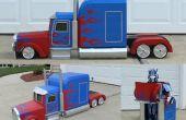 Transformeren van Optimus Prime kostuum