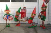 Santa's Elfen Yard Display