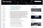 Solar System Simulator met behulp van Processing