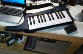 Wireless MIDI voor Rock Band Keytar