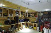 """""""Off Grid"""" DC zonne-elektrische Garage verlichting... Hard Wired en volledig geïntegreerde"""