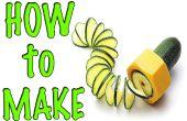 Hoe maak je een spiraal rasp / PVC HACKS