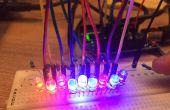 Arduino LED Rocker spel!