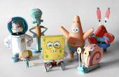 SpongeBob & vrienden Papercraft – de hele collectie