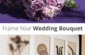 Frame van uw bruiloft-Bouquet