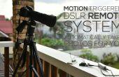 Motion geactiveerd DSLR extern systeem