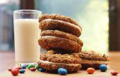 M & M havermout Cream Pie Cookie Sandwiches