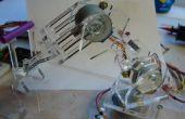 Plexi Bot: Draadloze robotarm