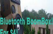 USB Bluetooth BoomBox voor $4!