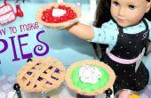 Hoe maak je American Girl taarten