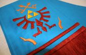 Hoe om te naaien en borduren van koppeling sjaal van Hyrule Warriors