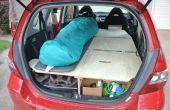 Ultieme Road Trip auto conversie (Honda Fit)