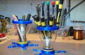 Hulpprogramma's van Organizer - gemaakt met 3D-onderdelen en PB trechters
